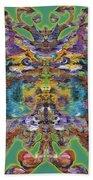 Papalotl Series Vlll Beach Towel