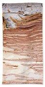 Paper Bark Background Beach Towel