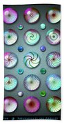 Paperweights And Marbles Beach Towel