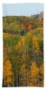 Paradise Autumn Beach Towel