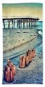 Paradise Cove Pier Beach Towel