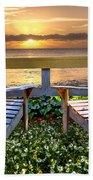 Paradise Beach Towel by Debra and Dave Vanderlaan