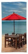 Paradise Dining Beach Towel