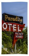 Paradise Motel Beach Towel