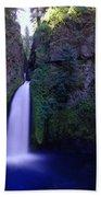 Paradise Pours Wanclella Falls Oregon Beach Towel