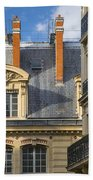 Paris Architecture Beach Towel