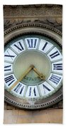 Paris Clocks 1 Beach Towel