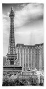 Paris Las Vegas Beach Towel by Howard Salmon