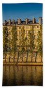 Paris Morning Beach Towel