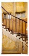 Paris Staircase Beach Towel
