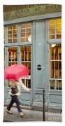 Paris Umbrella Beach Towel