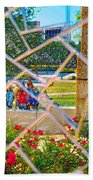Park Reflections Beach Towel