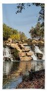 Park Reflections Beach Towel