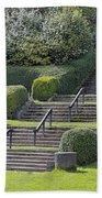 Park Stairs Beach Towel