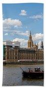 Parliament Beach Towel