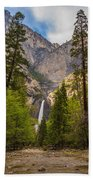 Parting Trees Beach Towel