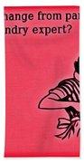 Party Animal Beach Towel