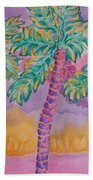 Party Palms Beach Towel