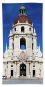 Pasadena City Hall, Pasadena California Beach Sheet