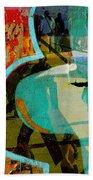 Passangers Paintbrush  Beach Towel