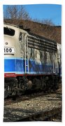 Passenger Train Beach Towel