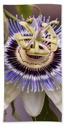 Passiflora Caerulea Beach Towel