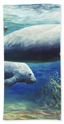 Passing Time Beach Towel