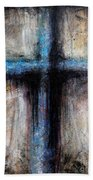 Passion Of The Cross Beach Towel