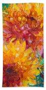 Passion Beach Towel by Talya Johnson