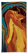 Passionate Kiss 2 2008 Beach Towel