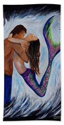 Passionate Mermaid Beach Towel
