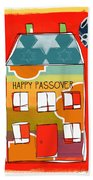 Passover House Beach Towel by Linda Woods