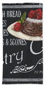 Pastry Cafe Beach Towel