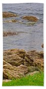 Patch Reefs At Point Amour In Labrador Beach Towel