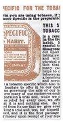 Patent Medicine Ad, 1890s Beach Towel