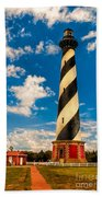 Path To Cape Hatteras Light Beach Towel