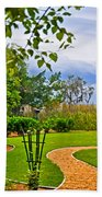 Path To Marshes Beach Towel