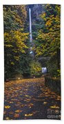 Path To Multnomah Falls Beach Towel