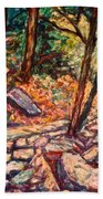 Path To The Cascades Beach Towel
