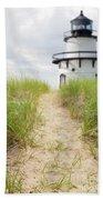 Path To The Lighthouse Beach Towel