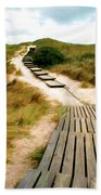 Path To The Sea Beach Towel