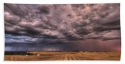 Path To The Storm Beach Towel
