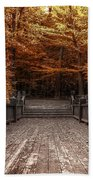 Path To The Wild Wood Beach Towel