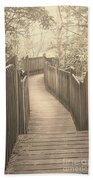 Pathway Beach Towel by Melissa Petrey