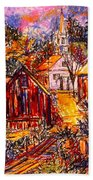 Pathway To Color Beach Towel