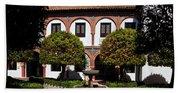 Patio Del Museo Cordobes De Bellas Beach Towel