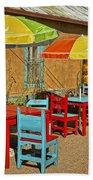 Patio Old Town Albuquerque New Mexico Dsc08203 Beach Towel