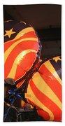 Patriotic Balloons Veteran's Day Casa Grande Arizona 2004 Beach Towel
