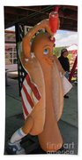 Patriotic Hotdog Beach Towel