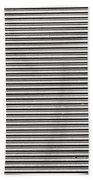 Pattern - Corrugated Metal Beach Towel